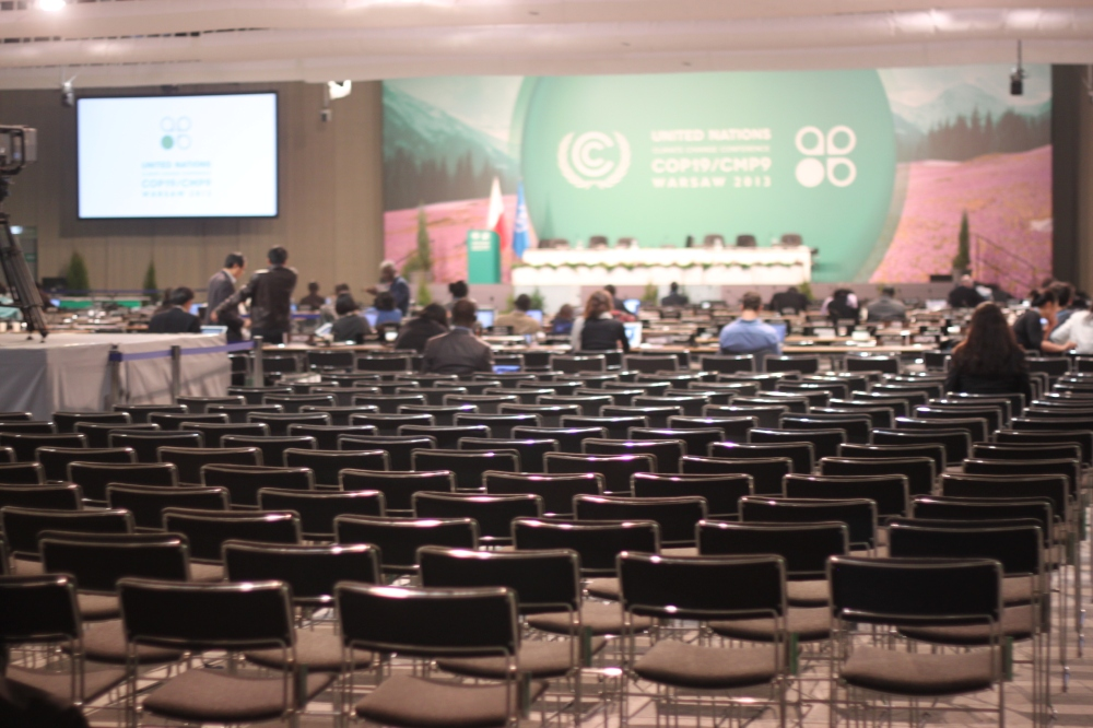 COP19 empty plenary